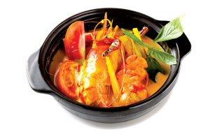 Curry de crevettes birman
